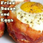 Fried Bacon and Eggs For Ketogenic Breakfast