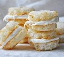 Coconut Cream Macaroons