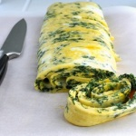 Egg White Spinach Omelet Recipe For Ketogenic Breakfast