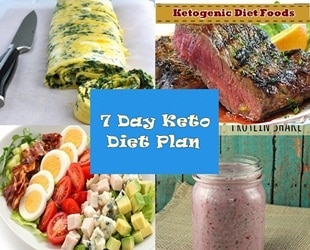 Ketogenic diet menu plan