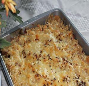 ketogenic reuben casserole