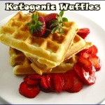 Enjoy Cooking Ketogenic Waffles of Pumpkin