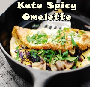 Ketogenic Spicy Omelette