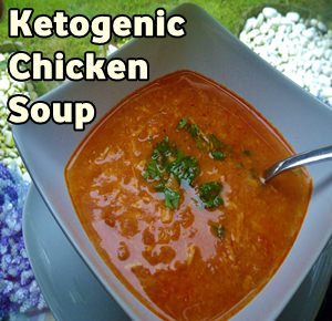 Ketogenic Chicken Soup