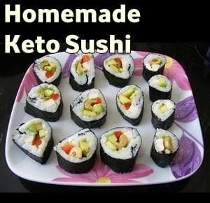 Keto Sushi Recipe