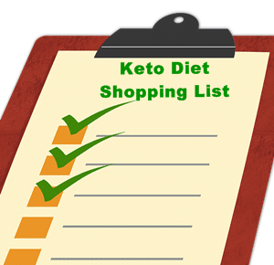The Ultimate Guide For Ketogenic Diet Shopping List
