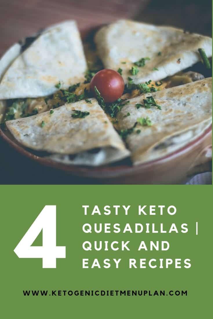 Quick and Easy Quesadilla Recipes