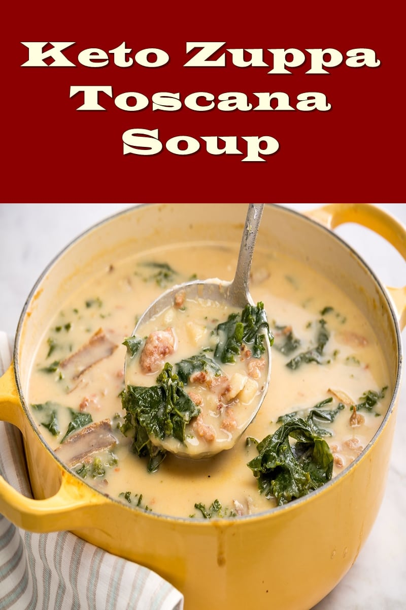 low carb zuppa toscana soup