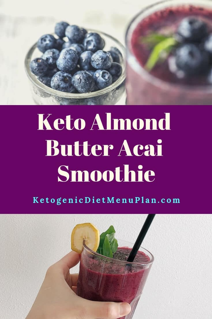 Low Carb Acai Smoothie Recipe
