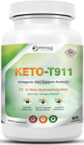 Keto T-911 Ketogenic Diet Support Formula
