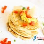Keto Cottage Cheese Pancakes without Flour